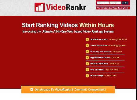 cheap Video Rankr - 500 Credits