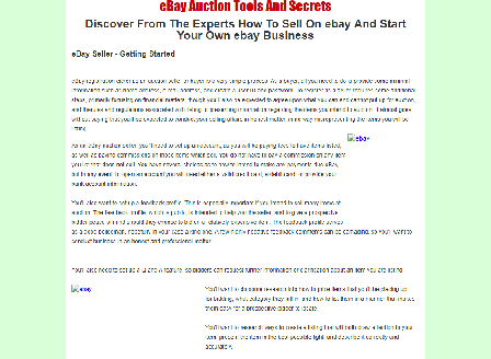 cheap eBay Auction Tools And Secrets