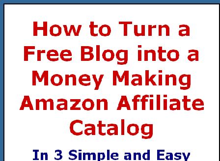 cheap Turn a FreeBlog into a Profitable Amazon Catalog