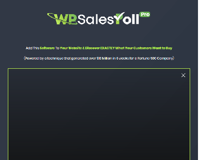 cheap WP SalesPollPro  - Unlimited Site License