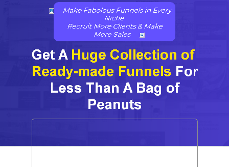 cheap CloudFunnels Readymade Funnels