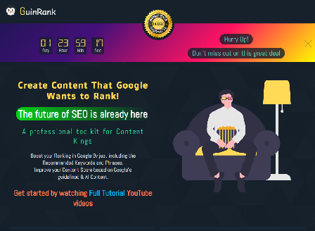 cheap GuinRank- The Ultimate SEO Content Optimization Ai Tool
