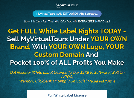 cheap My Virtual Tours White Label (Unlimited Accounts)