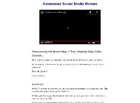 cheap Automated Social Media Robots