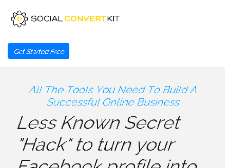 cheap SocialConvertKit | A Complete Toolkit for Facebook Marketing.