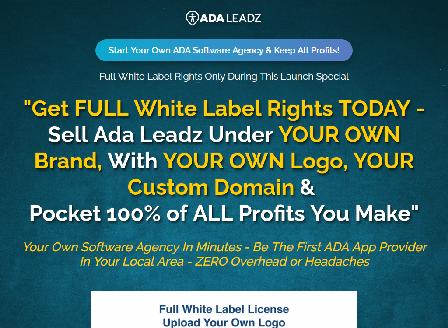 cheap ADA Leadz White Label (Unlimited)