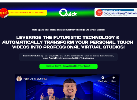 cheap Quick Studio FX Commercial | World