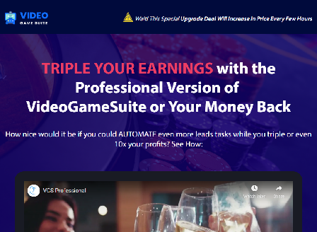 cheap VideoGameSuite Professional