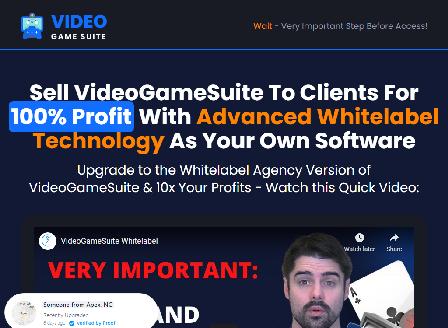 cheap VideoGameSuite Whitelabel