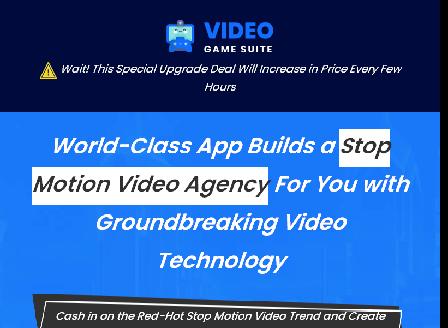 cheap VideoGameSuite - StopMotionSuite