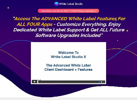cheap White Label Studio - White Label X