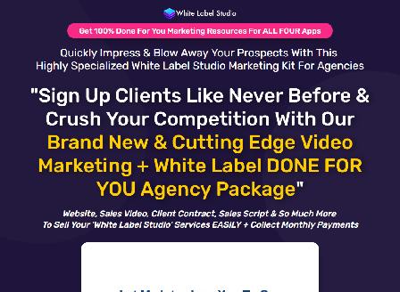 cheap White Label Studio Marketing Kit