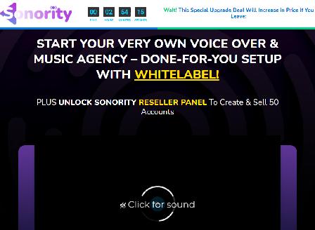 cheap Sonority Agency