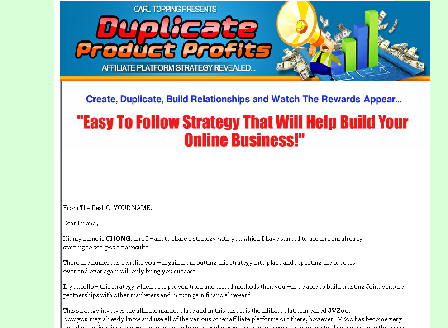 cheap Duplicate Product Profits Comes with Master Resale Rights!